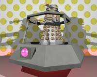 Imperial Dalek on Hoverbout